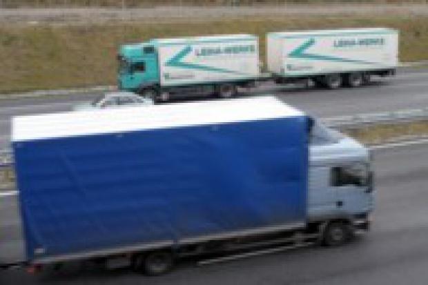 Protest ciężarowców: odsłona druga
