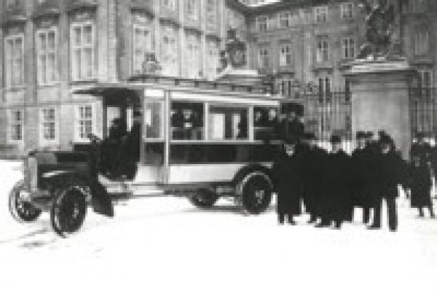 100-lecie autobusów w Czechach