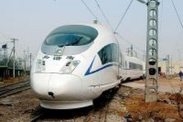 Chiński pociąg osiągnął nowy rekord prędkości