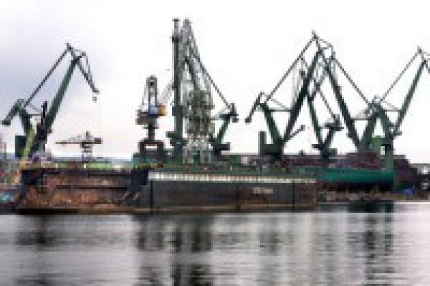 Protest przeciwko planom połączenia stoczni w Gdańsku i Gdyni