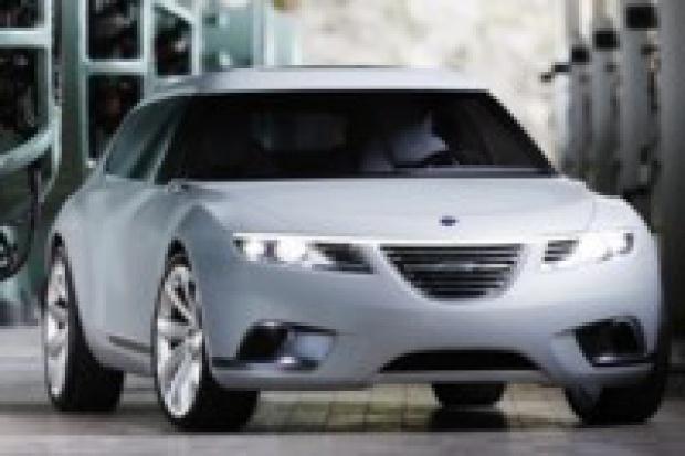 Saab 9-X BioHybrid w Samochodowym Salonie Sławy