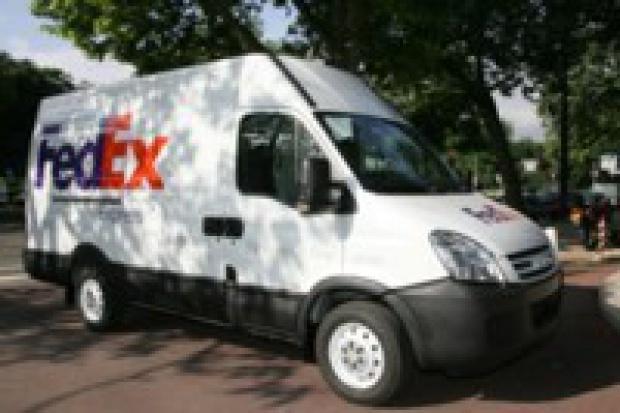 FedEx testuje hybrydowe Iveco Daily