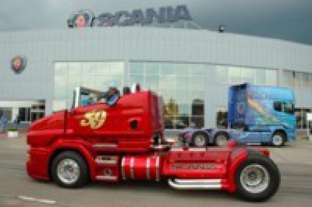 Scania w wersji kabrio