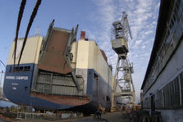 Gdynia: statki powstają mimo kłopotów