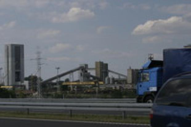 """Podziemny wstrząs w kopalni """"Bielszowice"""""""
