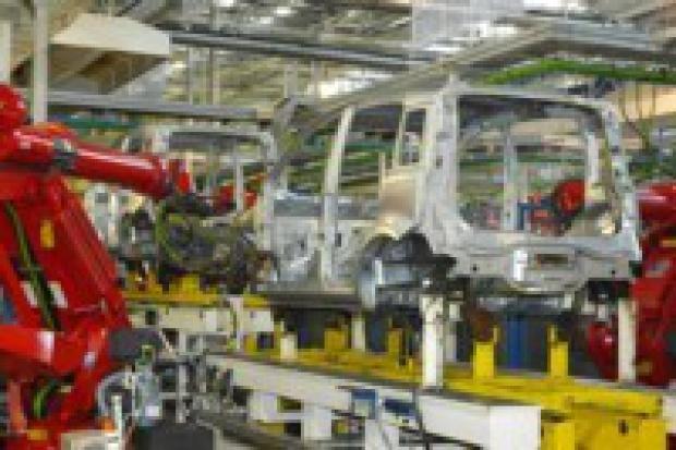 Produkcja aut osobowych wg GUS'u
