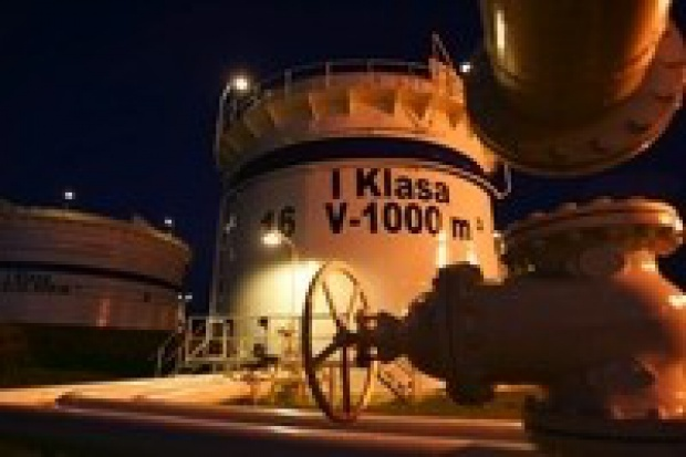 Powstaną zbiorniki na ropę i paliwa