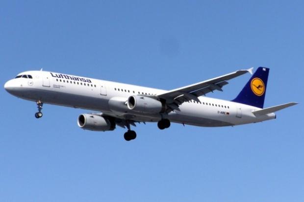 Lufthansa odwołała w poniedziałek 130 rejsów