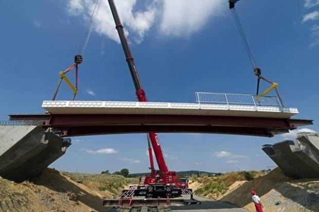 Powstał pierwszy w Europie most z tworzyw sztucznych