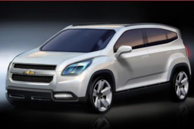 Modelem Orlando Chevrolet wejdzie w segment MPV