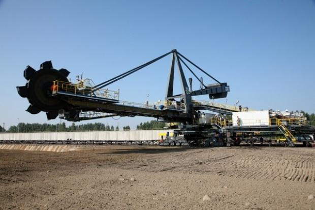 KWB Konin wybudowała plac składowy węgla o pow. 1,3 ha