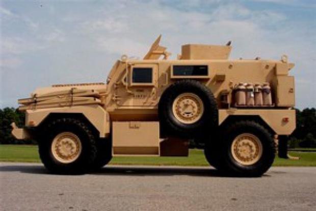 40 samochodów patrolowych od Amerykanów