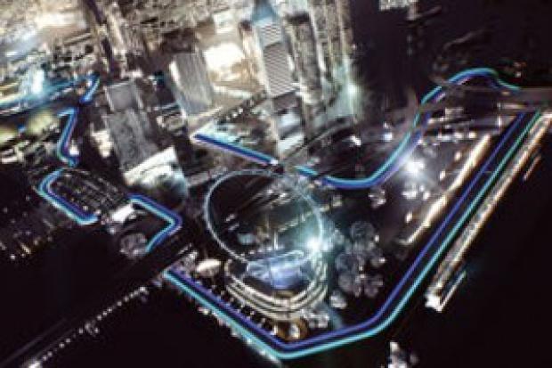 Odblaskowe opony na wyścig F1 w Singapurze