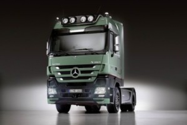 """Tytuł """"Truck of the Year 2009"""" dla Actrosa"""