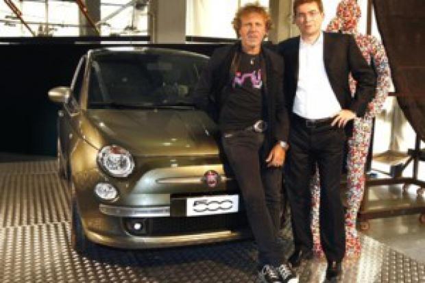 """Fiat """"500 by DIESEL"""" - odzieżowa wersja"""