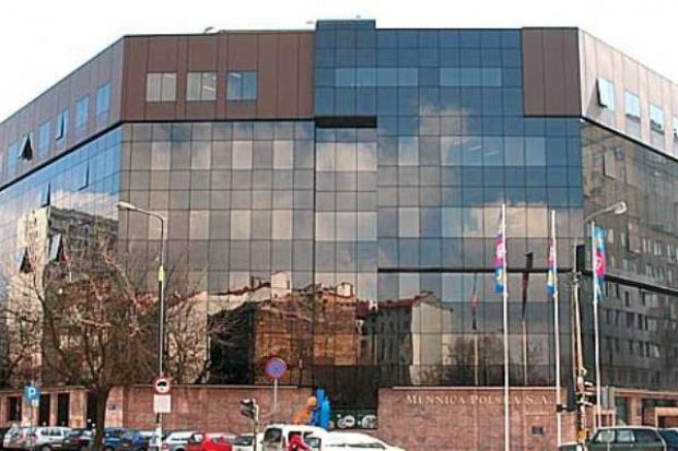 Mennica Polska liczy na biurowiec i numizmaty