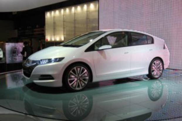 Honda Insight: jeszcze więcej prądu