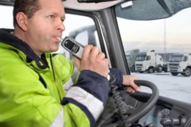 Ciężarówką Volvo nie ruszysz po alkoholu