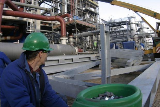 Mniej inwestycji w branży petrochemicznej