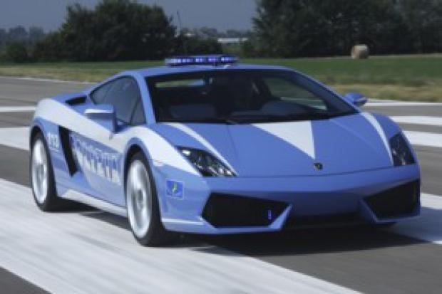 Lamborghini w służbie policji