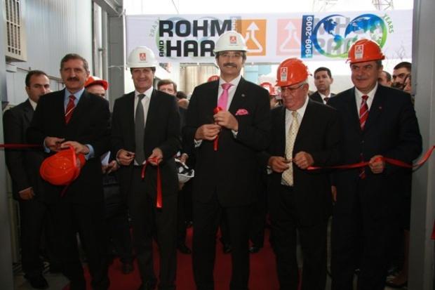 Spółka Rohm i Haas otworzyła fabrykę w Turcji