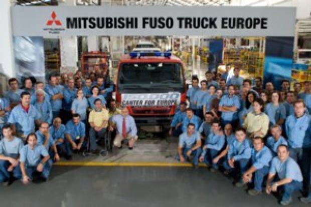 Fuso Canter numer 150 000 z zakładów w Portugalii