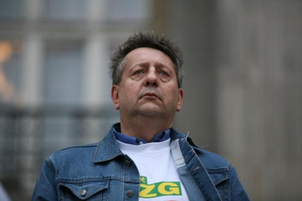 Wacław Czerkawski: w środę również i górnicy będą protestować pod Sejmem