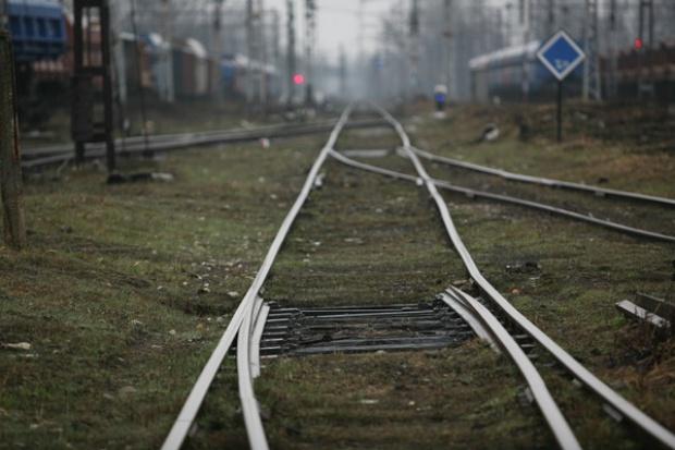 Związkowcy z PKP blokowali ruch pociągów w Katowicach
