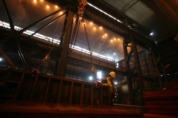 Wielki piec w Dąbrowie Górniczej jeszcze pracuje