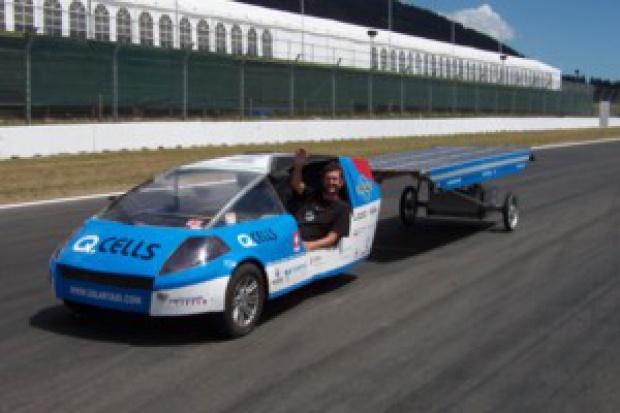 Słoneczna taksówka przyjedzie do Poznania