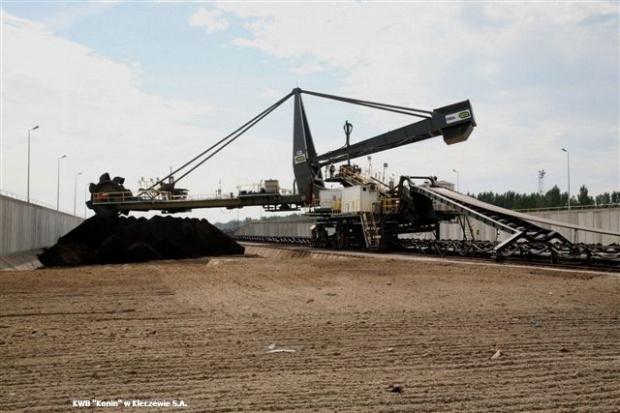 Greenpeace protestuje przeciwko odkrywkom kopalni Konin
