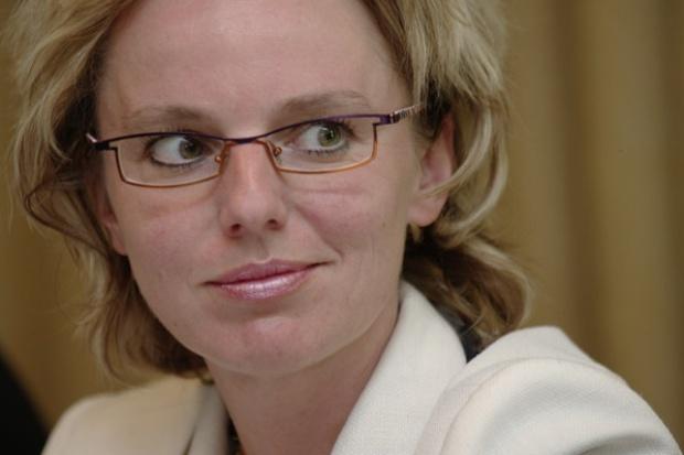 Wiceminister skarbu Joanna Schmid o debiucie Enei