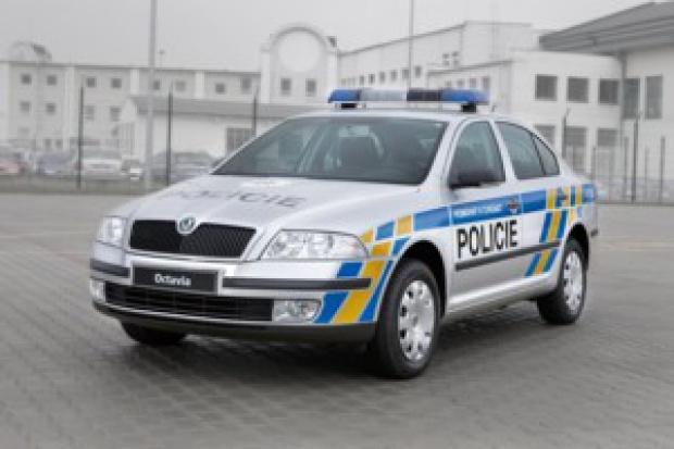 Skoda przemalowała radiowozy czeskiej Policji