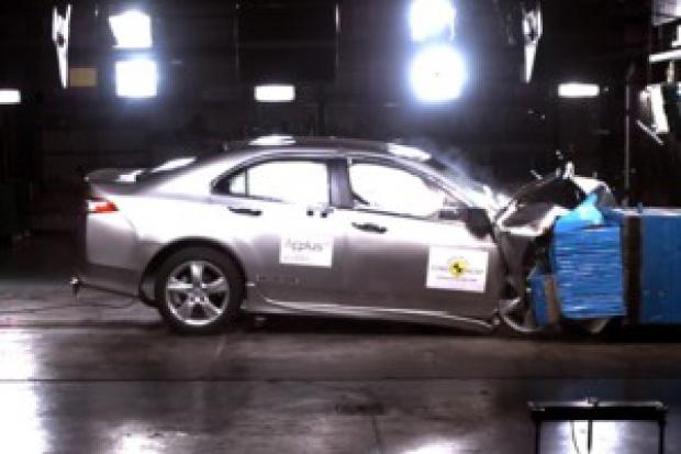 Honda Accord: testy EuroNCAP zdane z wyróżnieniem