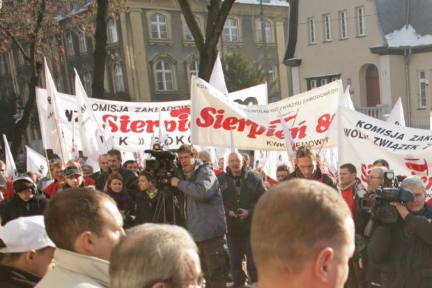 28 listopada będzie demonstracja hutników