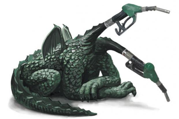 Naftowi giganci na rozdrożu