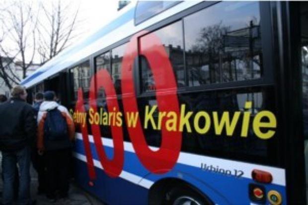 Solaris nr 100 w Krakowie