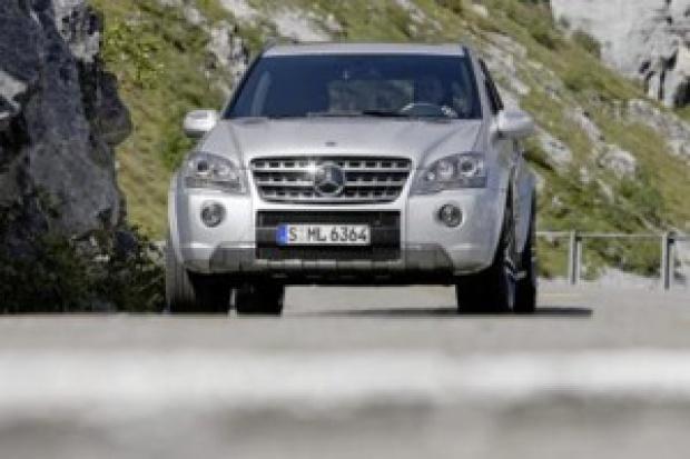 Niedługo hybrydowy SUV Mercedesa