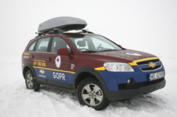 Chevrolet Captiva na usługach GOPR'u