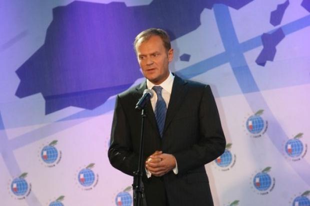 Tusk: Gazociąg Północny mógłby biec przez Polskę