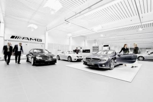 Rekordowa sprzedaż Mercedes-AMG GmbH