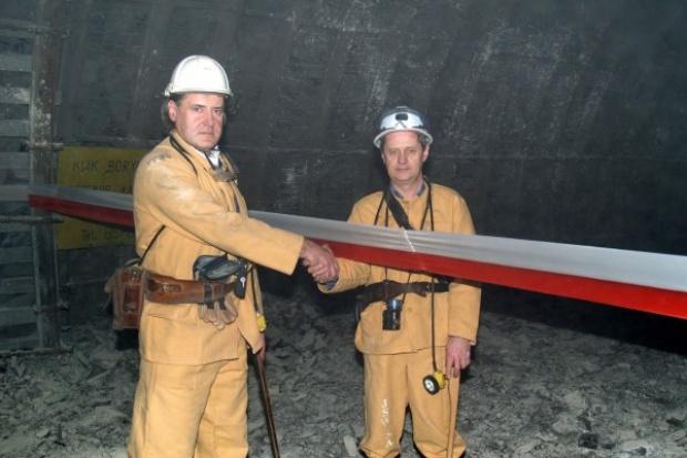 JSW: przekop połączył kopalnię Zofiówka z Borynią