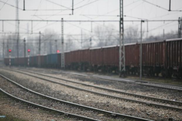 Towarowe załamanie na kolei