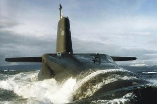 IFS w stoczni Royal Navy