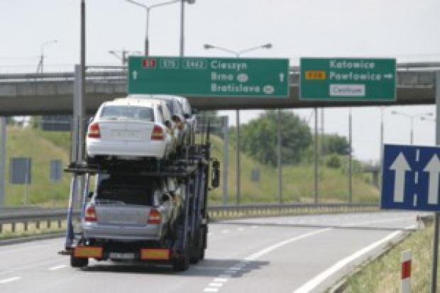 Auta importowane do Polski trafiają za granicę