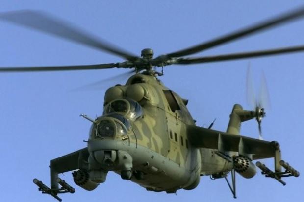 Katastrofa wojskowego śmigłowca Mi-24, jeden żołnierz nie żyje