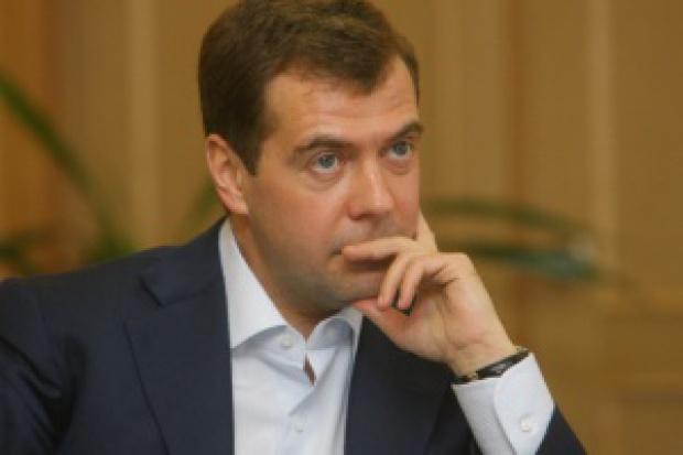 Miedwiediew: możemy zażądać od Ukrainy płatności z góry za gaz