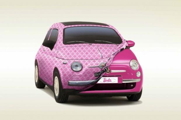 Fiat 500 dla lalki Barbie