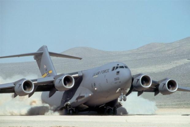 Pierwsze nitowanie Boeinga C-17
