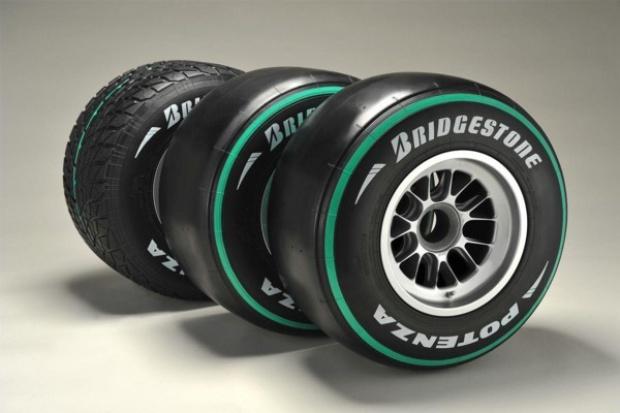 Zielone opony dla wyścigówek